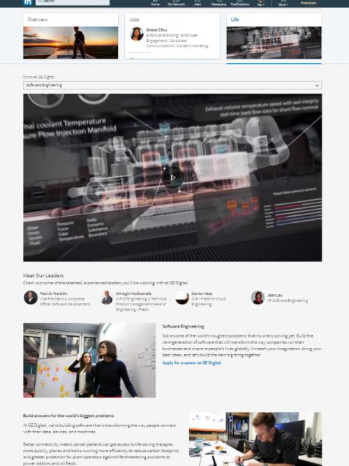 ge digital's targeted software engineering careers page.